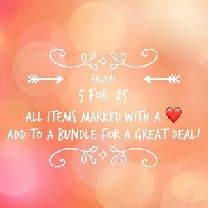 Other - ❤️❤️ 5 for $25 Bundle Deal ❤️❤️